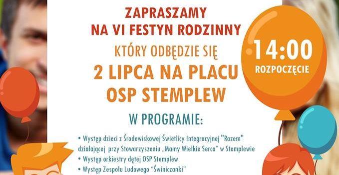Festyn Rodzinny 2017 – zaproszenie